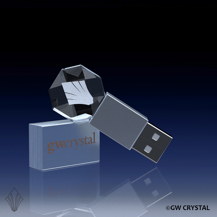 Gemstone Crystal Flash Drives