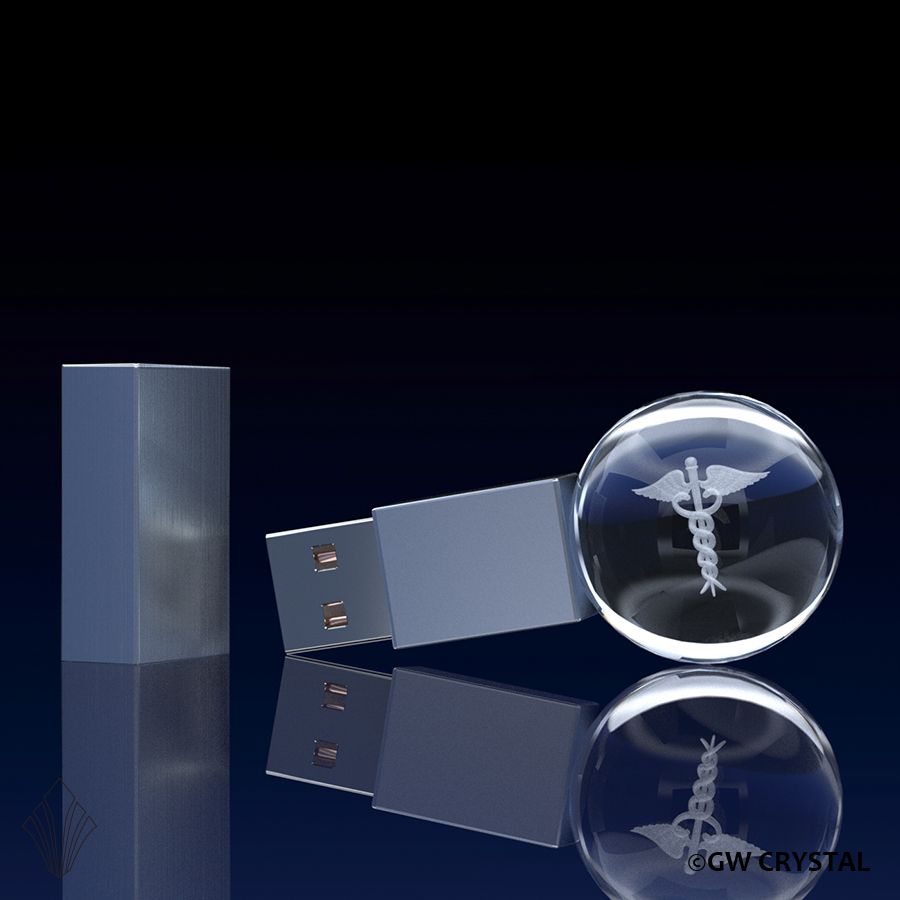 Sphere Crystal Flash Drives