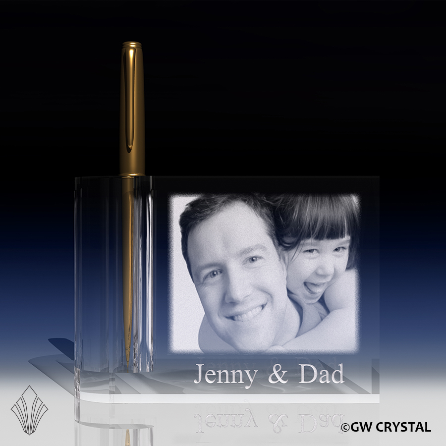 Crystal Pen Holders & Flower Vases