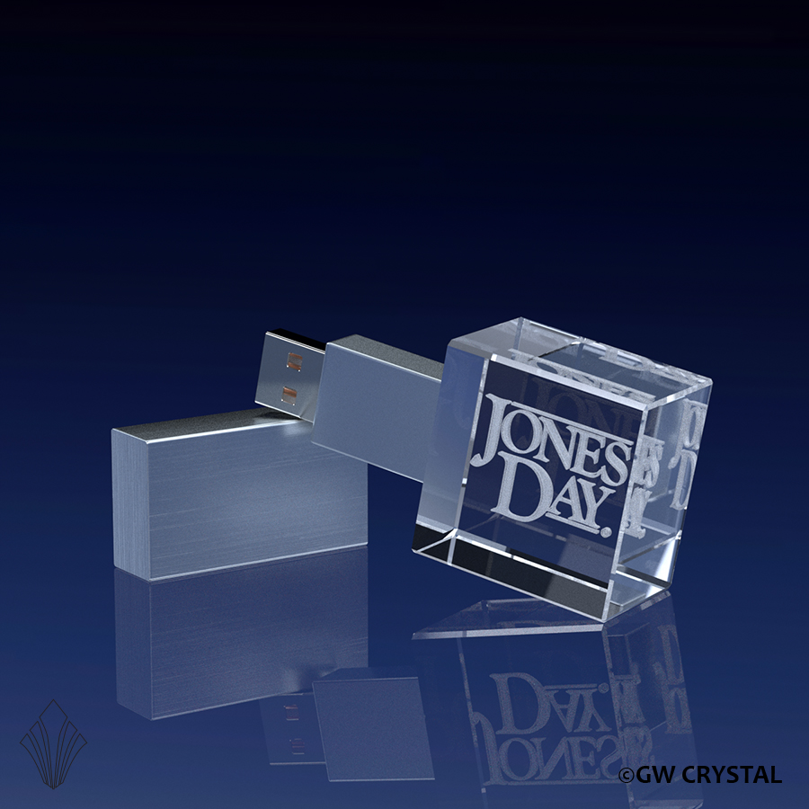 Square Crystal Flash Drives