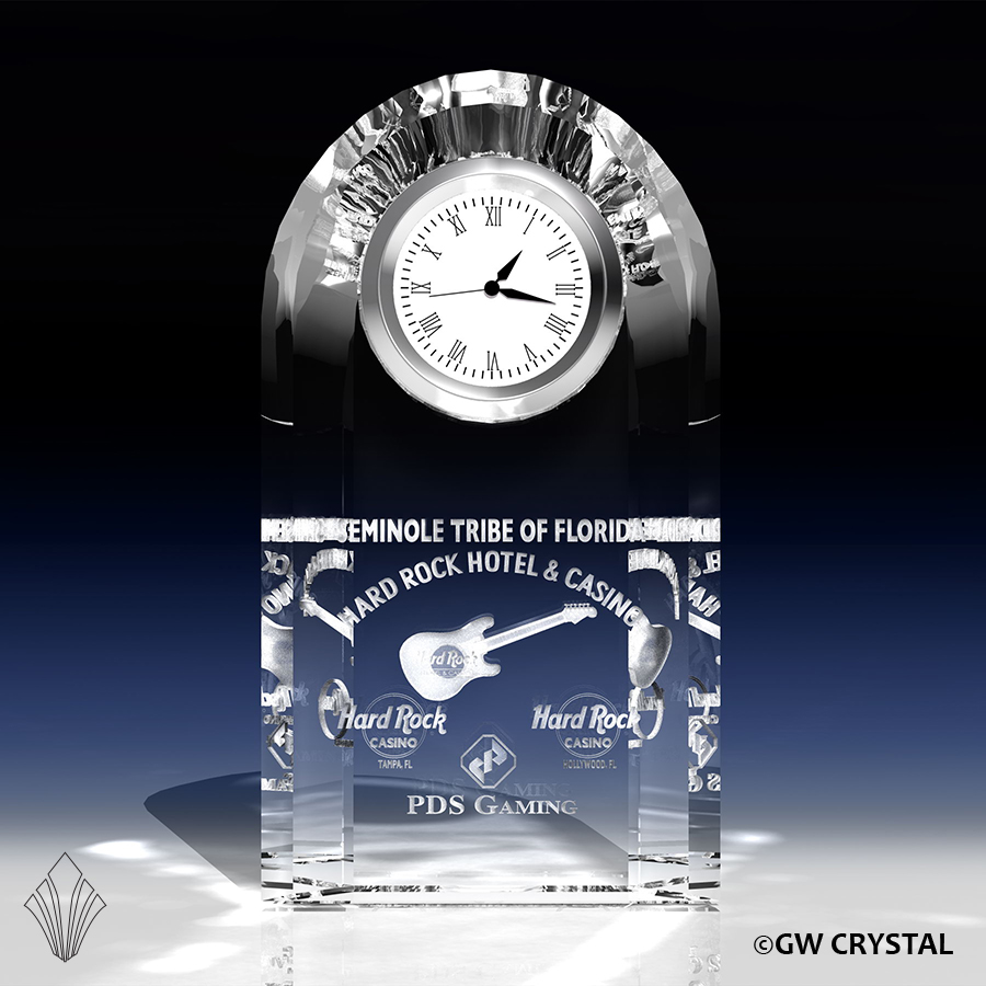 Tower Crystal Clock