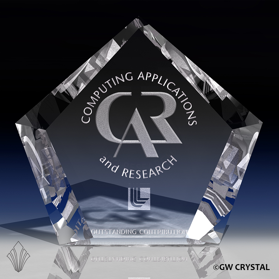 Arrow Series Crystal Awards