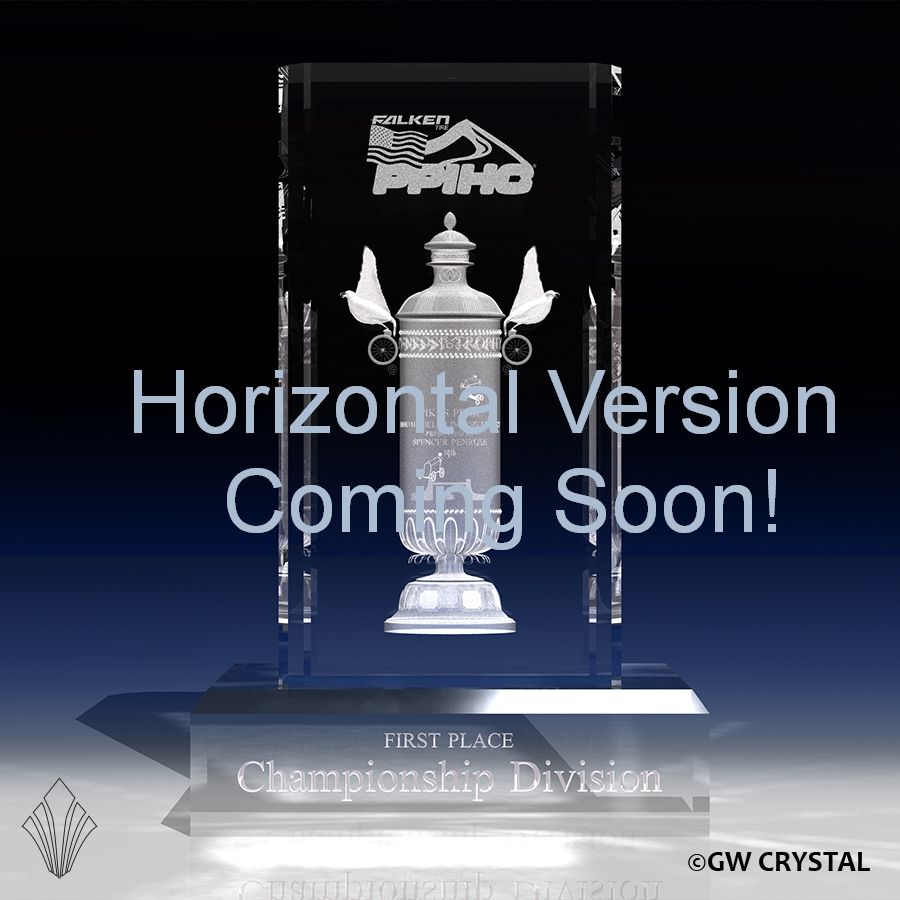 Pikes Peak Crystal Award - Horizontal